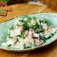 Садовый салат Фото