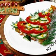 Ёлочка салат Фото