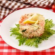 Острый краб салат Фото