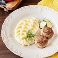 Домашние котлеты с картофельным пюре Фото