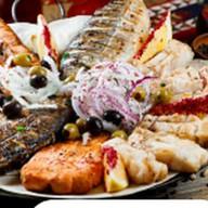 Ассорти из рыбного шашлыка Фото