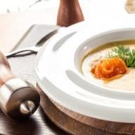 Сливочный крем-суп из лосося Фото