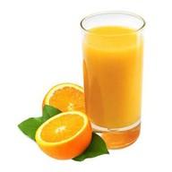 Апельсиновый свежевыжатый сок Фото