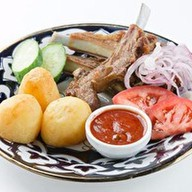Казан-кебаб с картофелем Фото