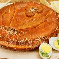 Пирог c капустой Фото