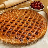 Пирог со свежими ягодами Фото