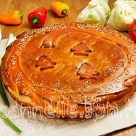 Вегетарианский пирог Фото