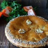Пирог с овощами Фото