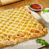 Пирог слоеный Ванильный крем Фото