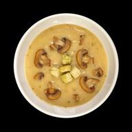 Сливочный крем-суп с шампиньонами Фото