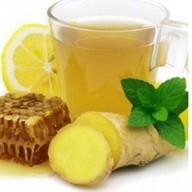 Лимонад имбирный с медом Фото