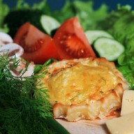 Перепечки с сыром 16 шт. Фото