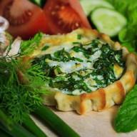 Перепечки с яйцом и зеленым луком 8 шт. Фото