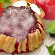 Перепечки с брусникой, яблоком 8 шт. Фото