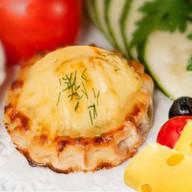 Перепечки с картофелем и сыром Фото