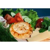 Перепечки с курицей и сыром 16 шт. Фото