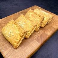5 слоек с ветчиной и сыром Фото