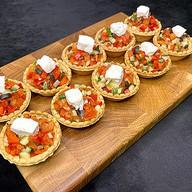 Тарталетки с греческим салатом(за сутки) Фото