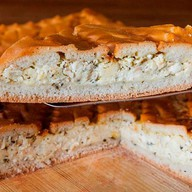 Пирог Рокфор с двумя видами сыра Фото