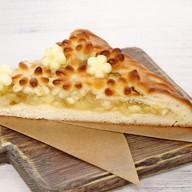 Пирог веганский с яблоком и грушей Фото