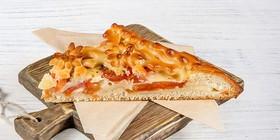 Пирог итальянский с моцареллой, томатами - Фото
