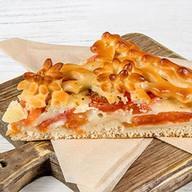 Пирог итальянский с моцареллой, томатами Фото