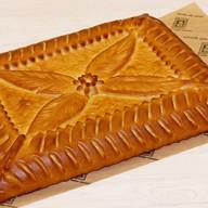 Пирог тыквенный с индейкой Фото