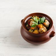 Рагу из овощей с индейкой Фото