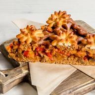 Пирог овощной с баклажанами Фото