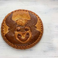 Пирог с мясом Бык Фото