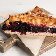 Пирог с черникой Фото