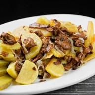 Картофель с грибами по-домашнему Фото