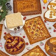 Набор пирогов Зимний вечер Фото