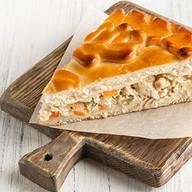 Пирог овощной с индейкой пикантный Фото