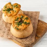 Набор лукошек с картофелем и мясом Фото