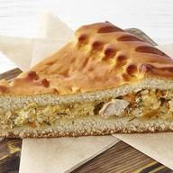 Пирог с тыквой и индейкой Фото