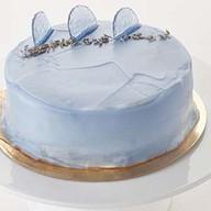 Лавандовый торт Фото