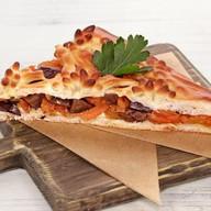Пирог веганский овощной с баклажанами Фото