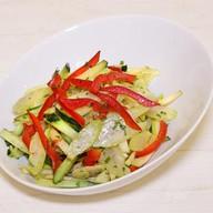 Салат со стеблем сельдерея Фото