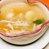 Суп Алфавит с куриным филе Фото