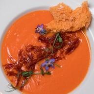 Крем-суп из батата и чоризо Фото