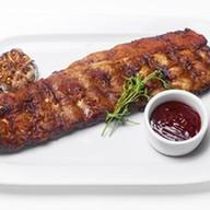 Свиные ребра в соусе BBQ Фото
