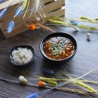 Кимчи из молодого бычка суп Фото
