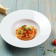 Болоньезе с мясным фаршем (спагетти) Фото