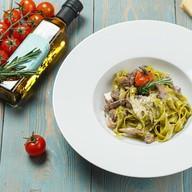 Паста со шпинатом и говядиной Фото