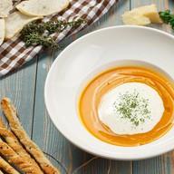 Крем-суп из тыквы с капучино Фото