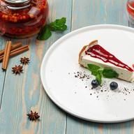 Домашний малиновый чизкейк Фото