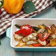 Овощи с бальзамическим соусом Фото