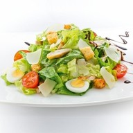 Цезарь с курой салат Фото