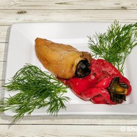 Болгарский перец на мангале Фото